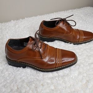 Stacy Adams Bingham Cap Toe Oxford Shoes boy's 1